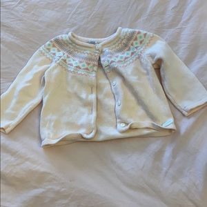 JANIE AND JACK 6-12M SWEATER
